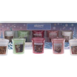 Votive candle gift set